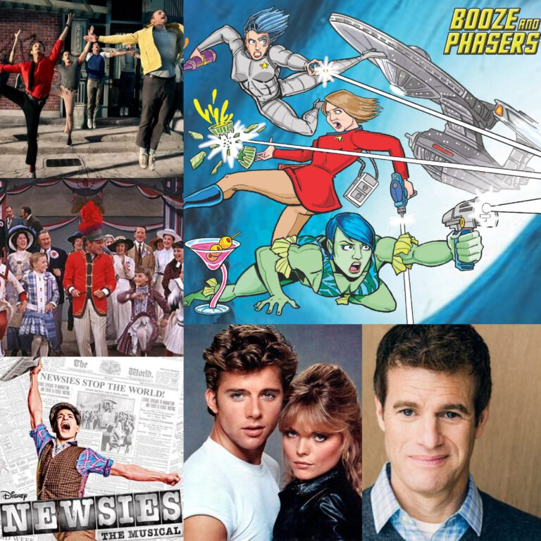 Ep 31 – Favorite Movie Musicals with Actor, Writer Mike Rock