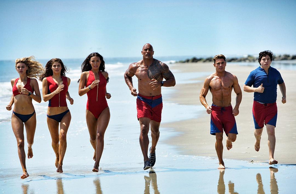 Bite-Sized Movie Reviews – BAYWATCH