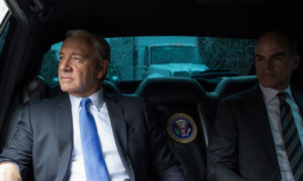 Obama's Photographer Trails Frank Underwood for HOUSE OF CARDS Publicity