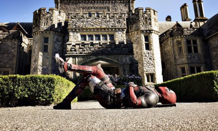 Deadpool Visits the X-Mansion in New Set Photo