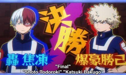MY HERO ACADEMIA Recap: (S02E12) Todoroki vs. Bakugo