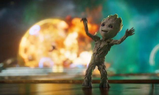 Watch Director James Gunn Groove as Groot for GOTG Vol 2