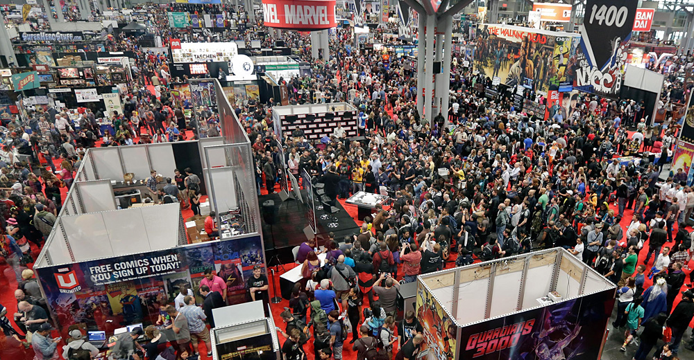 Comic con survival guide everything you need to pack for for Manhattan motors manhattan ks