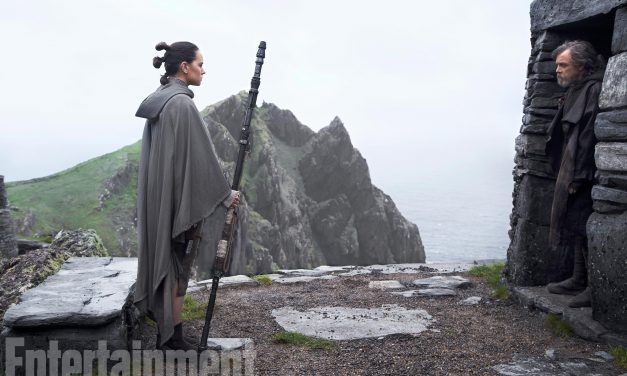 Rey and Luke Are the Heart of STAR WARS: THE LAST JEDI Says Director