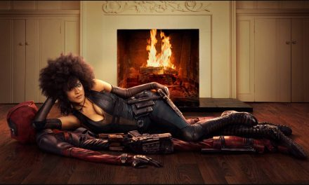 First Look at Domino and Deadpool on Set Together