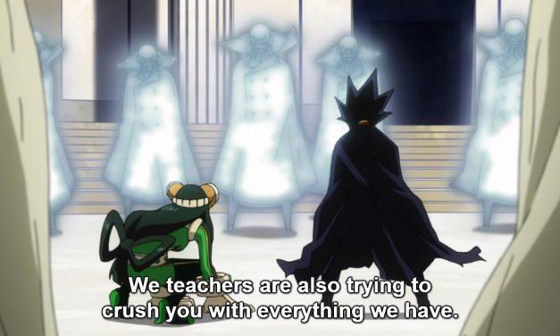 MY HERO ACADEMIA Recap: (S02E22) Yaoyorozu: Rising