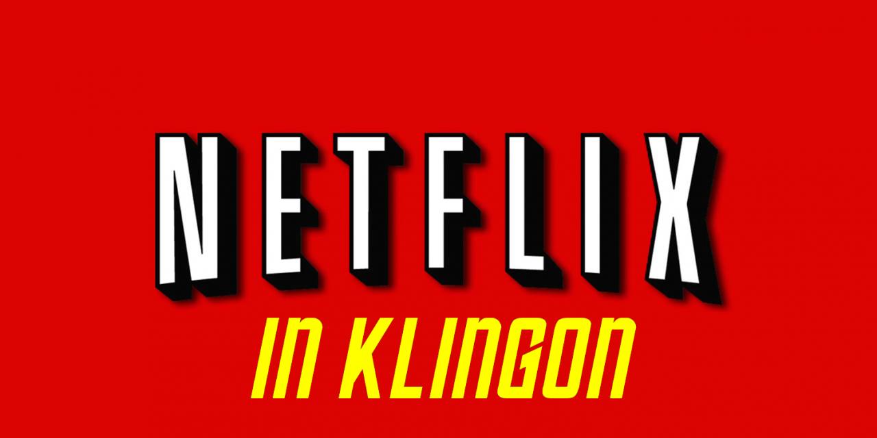 STAR TREK: DISCOVERY Now Has Klingon Subtitles on Netflix