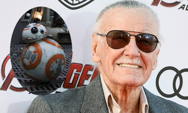 Stan Lee Met Everyone's Favorite New Droid – BB-8