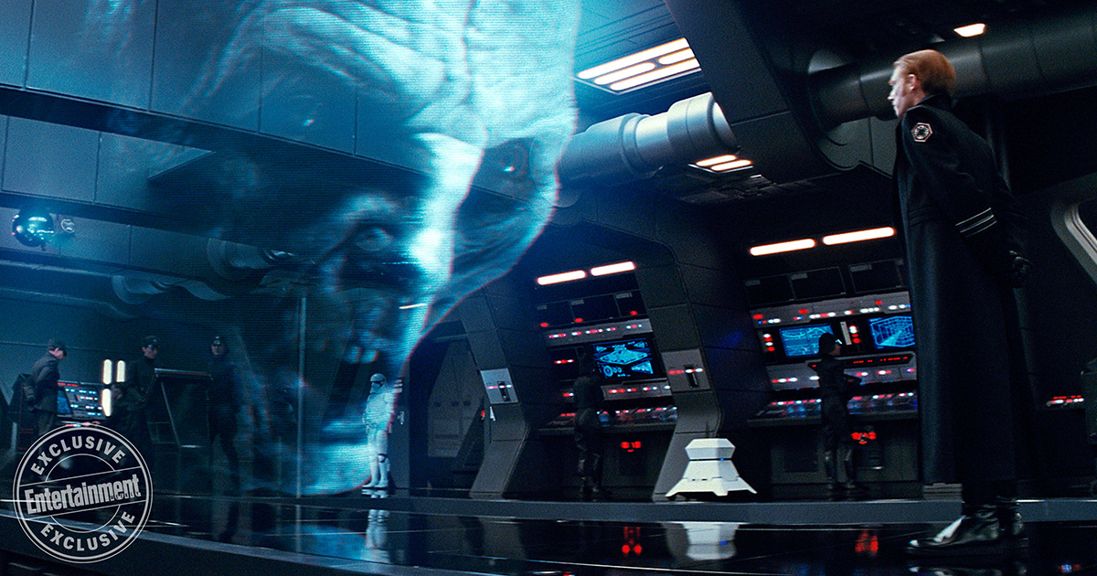 Snoke Driven by Pain and Greed in STAR WARS: THE LAST JEDI