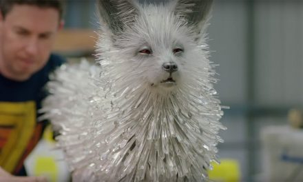 Meet the Vulptex, the Crystal Foxes from STAR WARS: THE LAST JEDI