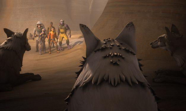 STAR WARS REBELS Recap: (S04E07) Kindred
