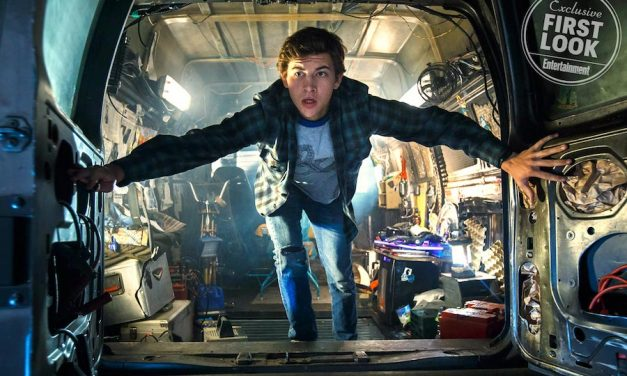 New READY PLAYER ONE Images Show Bleak Real World and a Look at Avatars
