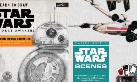 These STAR WARS Art Activity Books Are Great For Fans Young and Old