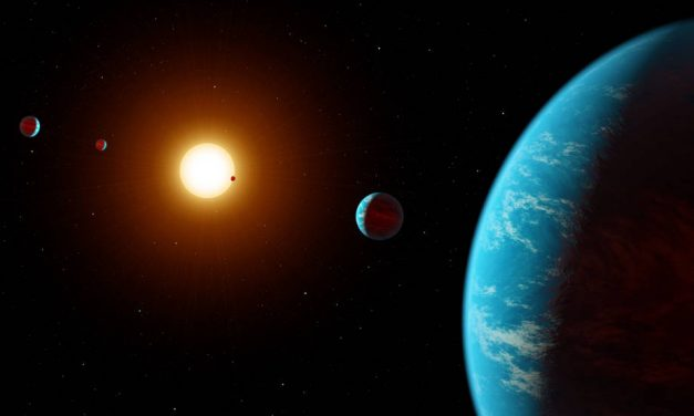 Citizen Scientists Actually Use the Internet for Something Useful and Discover a Star System with Five Super Earths