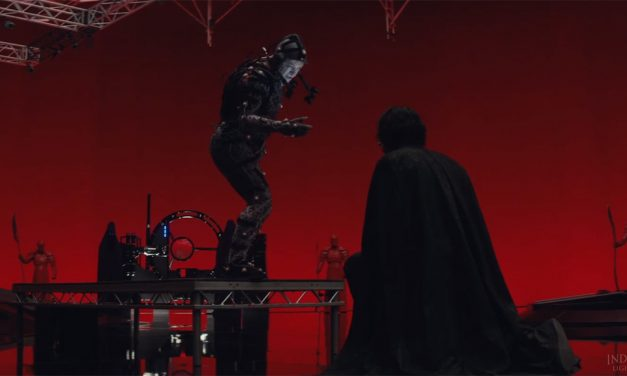See the Magic of Creating Supreme Leader Snoke in STAR WARS: THE LAST JEDI