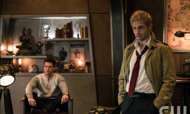 Matt Ryan's Constantine Permanently Joining DC'S LEGENDS OF TOMORROW