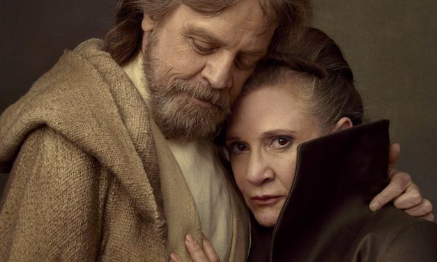 Watch the Emotional Reunion of Luke and Leia from STAR WARS: THE LAST JEDI