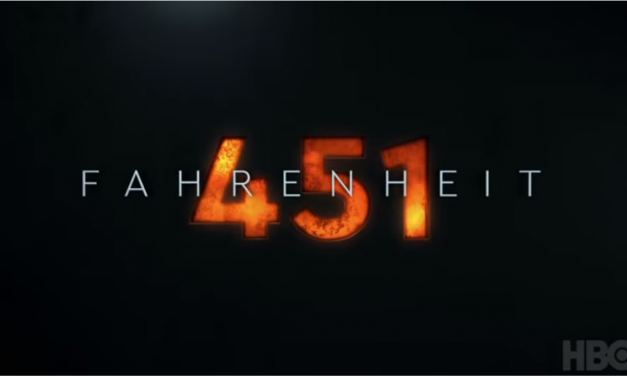 FAHRENHEIT 451 Trailer Plays with Fire