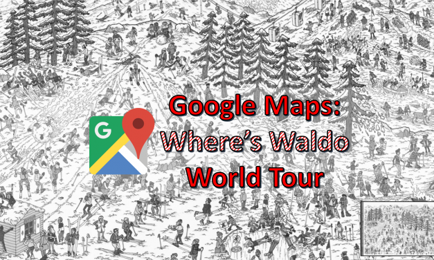 April Fools 2018: WHERE'S WALDO Hides In Google Maps