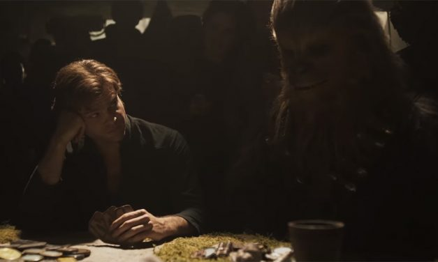 Chewbacca Thinks This Is a Bad Idea in the New SOLO: A STAR WARS STORY Ad