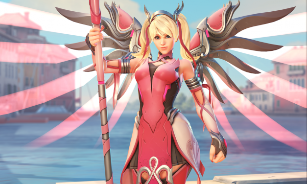 OVERWATCH Pink Mercy Charity Skin Benefits the BCRF
