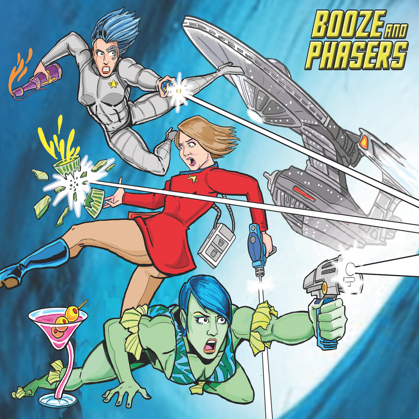 Booze and Phasers