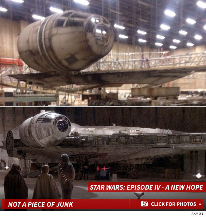 New Millennium Falcon, Y'all!