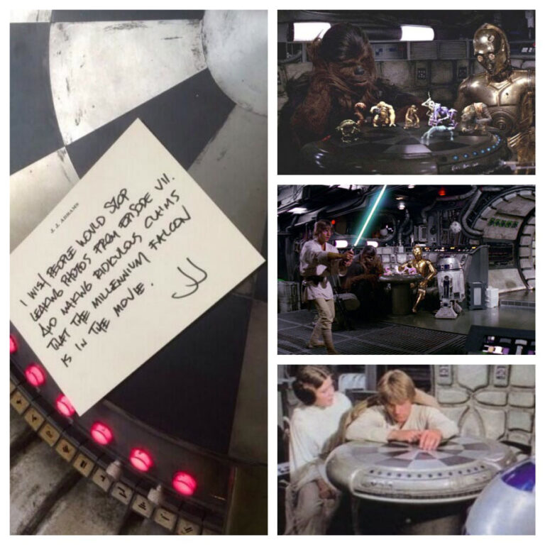 Another Star Wars Pic – J.J. Abrams Tweets a Response from the Star Wars Set