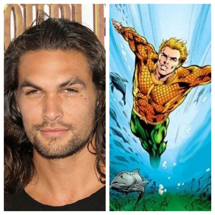 Jason Momoa Cast as Aquaman