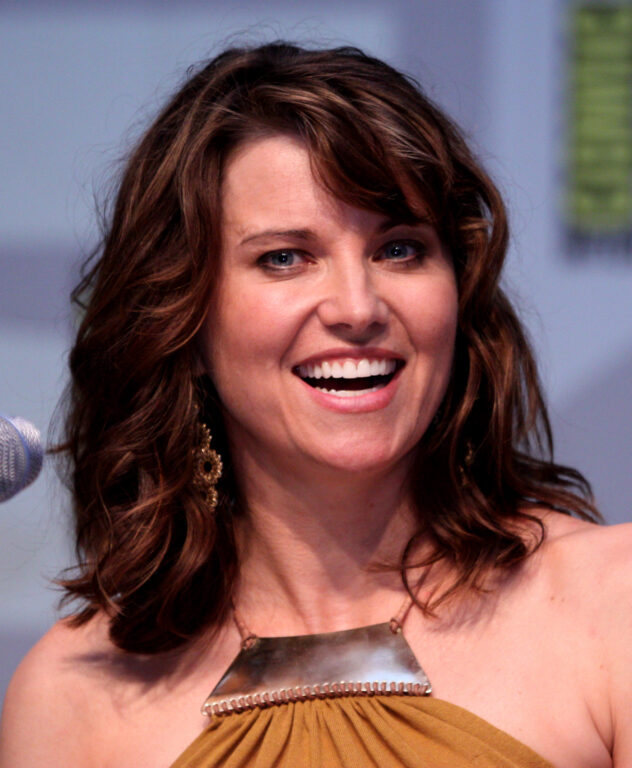 SHIELD Lucy Lawless Announcement at Comic Con
