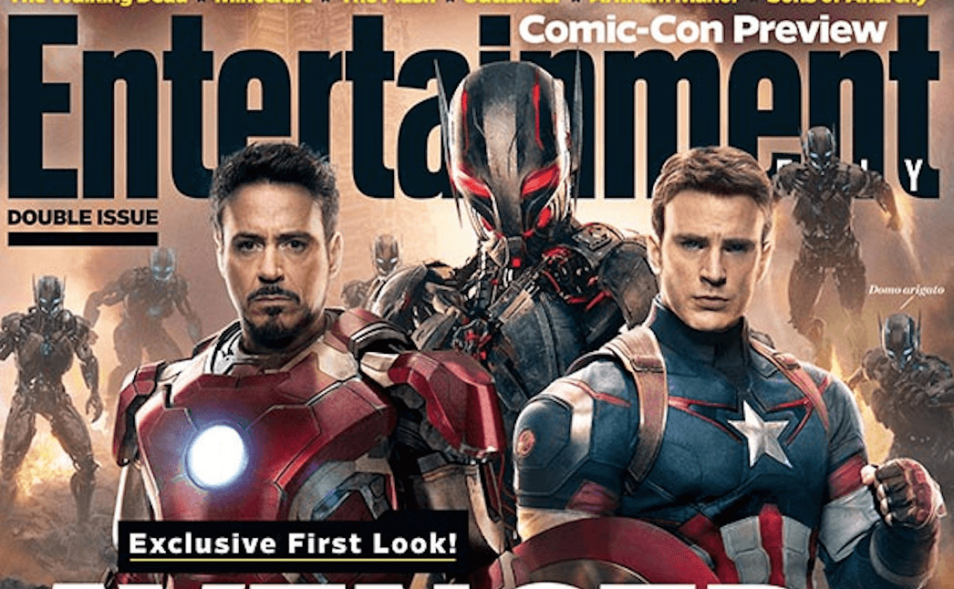 First Look at Avengers: Age of Ultron – EW Cover