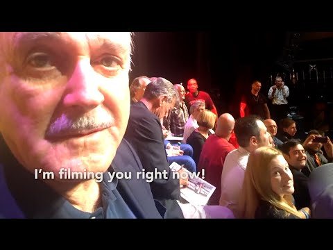 Glassified: Terry Gilliam Tries Google Glass For the First Time After Monty Python Reunion Show
