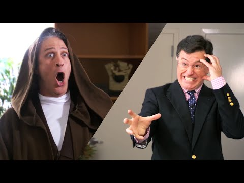 John Stewart and Stephen Colbert Make the Funnies for Star Wars Fundraiser