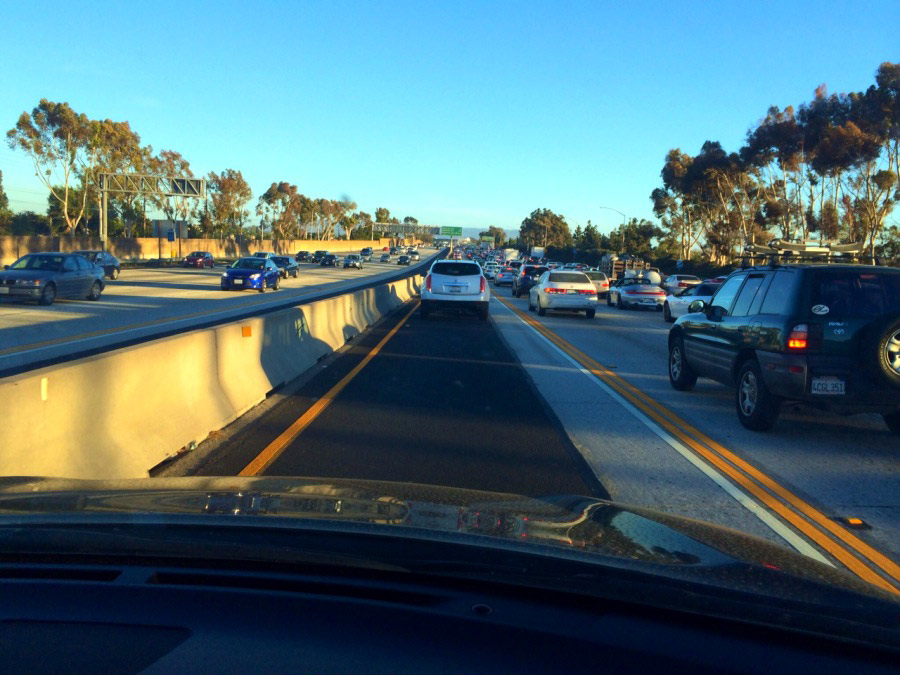 Just Got on the 405 for San Diego Comic Con and……