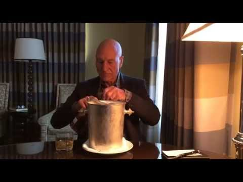 Patrick Stewart Remains the Classiest of Mofo's In His Ice Bucket Challenge