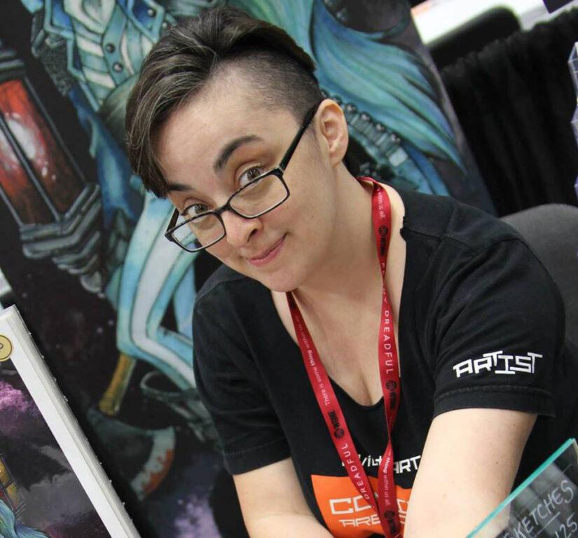 LEGION OF LEIA INTERVIEW: TESS FOWLER, ARTIST AND COMIC BOOK CREATOR