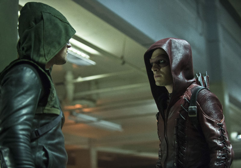 New Arrow Season 3 Pics from DCComics.com