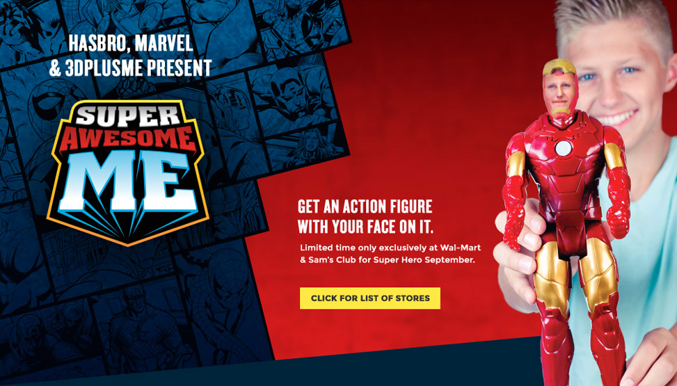 WANT YOUR FACE ON AN ACTION FIGURE? HOPE YOU'RE A GUY …