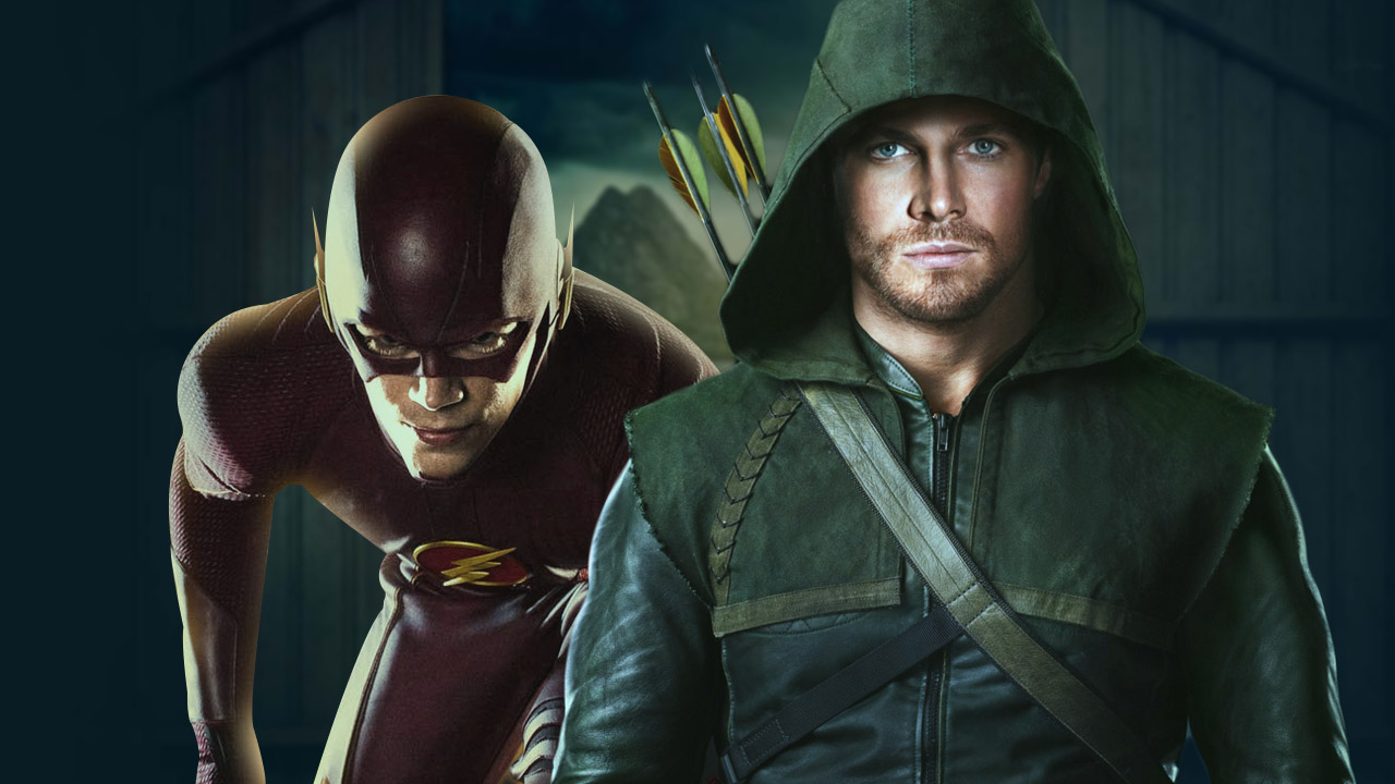 Arrow vs Flash on CW!
