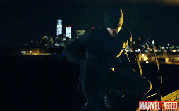 New Daredevil On-Set Pics and Poster Released at NYCC
