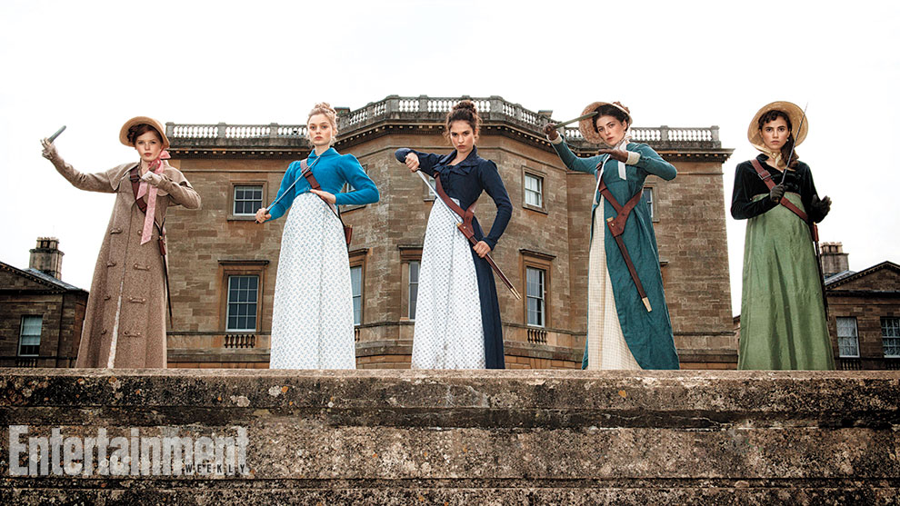 'Pride and Prejudice and Zombies' Sneak Peek!… But not above the ankle.