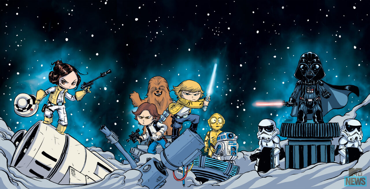 Star Wars Variant Covers by Skottie Young