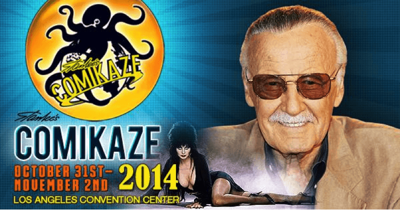 STAN LEE'S COMIKAZE – Halloween, Kids Admitted FREE for Trick or Treat with a Ticket Holding Adult!