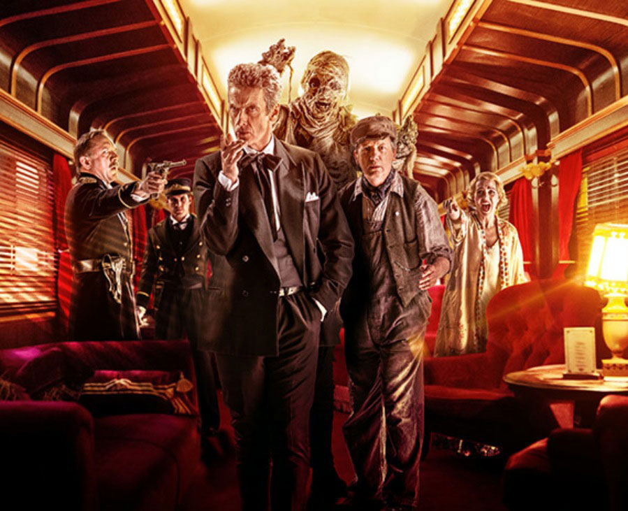 Teaser Trailer and Promo Pics for This Week's Doctor Who Ep. Mummy on the Orient Express