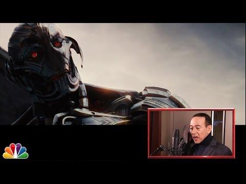 Pee-Wee Herman redubs Age of Ultron trailer on Jimmy Fallon!