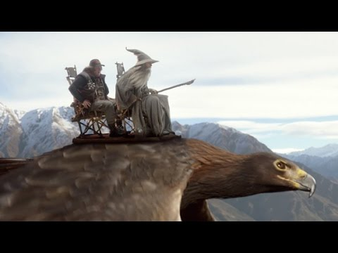 "Lord of the Rings ""Most Epic Saftey Video Ever Made"" for Air New Zealand!"