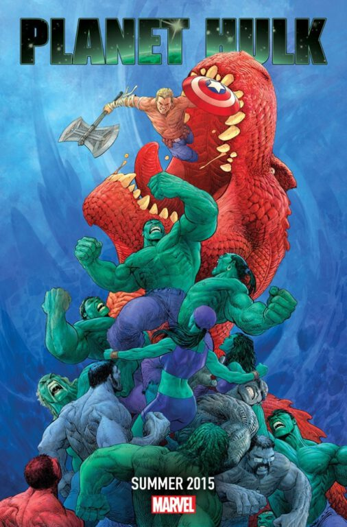 Marvel Teases a Return to Planet Hulk