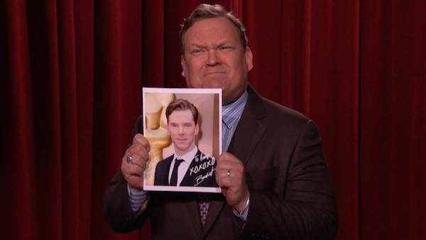 ANDY RICHTER WINS 'BENEDICT CUMBERBATCH ENGAGEMENT REACTION' AWARD