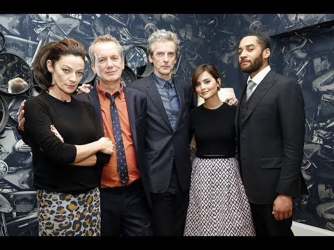 Season 8 Doctor Who Q&A with Steven Moffat, The Doctor, Clara, Missy And Mr. Pink!