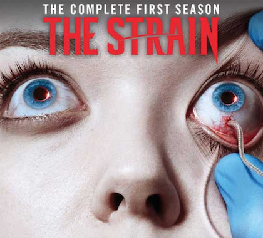 WIN 'THE STRAIN' SEASON 1 ON DVD IN GEEK GIRL AUTHORITY'S CREEPY HOLIDAY GIVEAWAY!